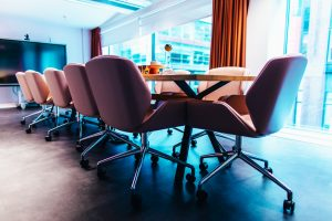 Space Zero Head Office Meeting Room Chairs