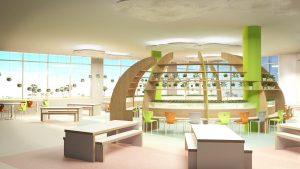 Al Maha Campus Dining Room